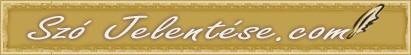 Szó Jelentése logo